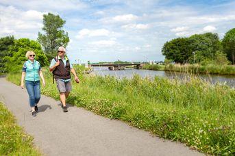 Ems-Jade-Weg - 2. Etappe - von Aurich zur Paddel & Pedal Station in Friedeburg