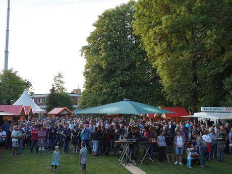 Live im Park - so klingt der Wittmunder Sommer