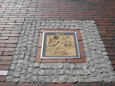Hands of Fame Otto Walkes