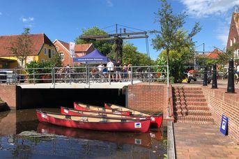 Kanutour Hauptkanal in Papenburg